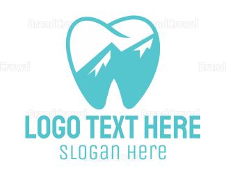 Dentistry - Blue Tooth logo design