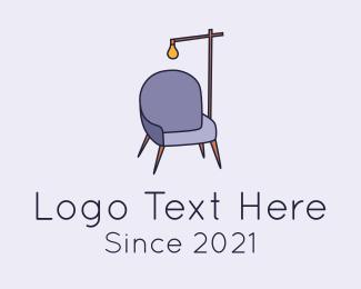Interior - Interior Design Furniture logo design