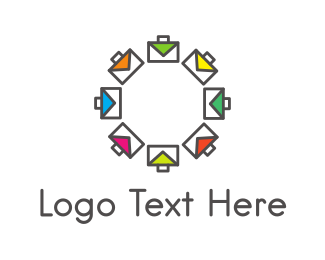 Purse - Colorful Briefcases logo design