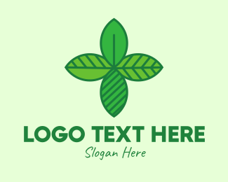Naturopath - Green Ecology Leaves logo design