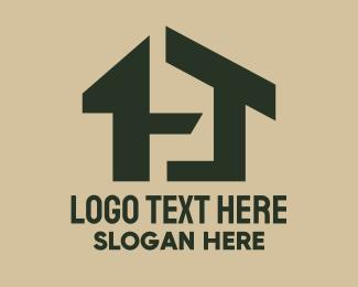 Wooden - Wooden Housing Property logo design
