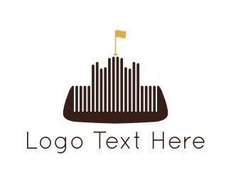 Citadel - Barber Comb Castle logo design