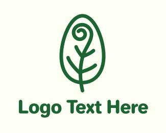 Spiral - Spiral Leaf logo design