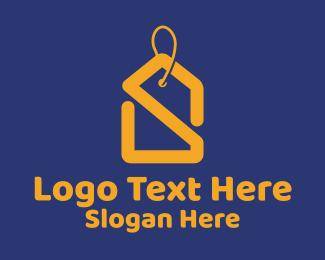 Thrift Shop - Price Tag Letter S  logo design