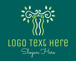 Organic - Organic Pillar logo design