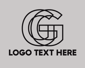Magazine - Black Outline G logo design