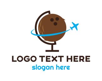 Travel - Tropical Travel logo design