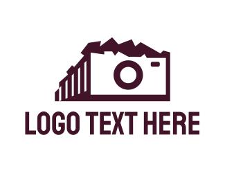 Antique - Parthenon Camera logo design