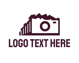 History - Parthenon Camera logo design