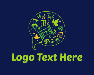 Yard - Garden Furniture logo design