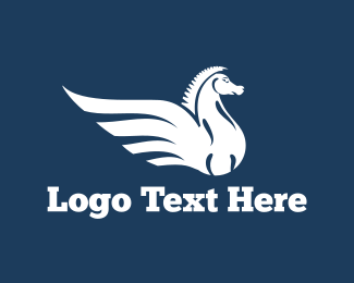 Pegasus - Pegasus logo design