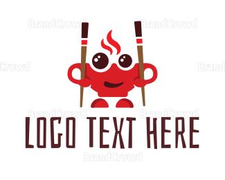 Soup - Happy Bowl logo design