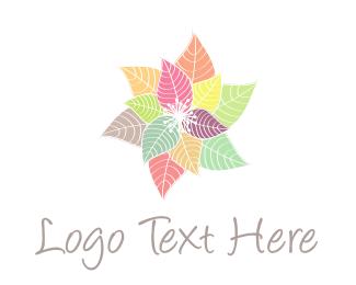 Pastel - Colorful Flowers logo design
