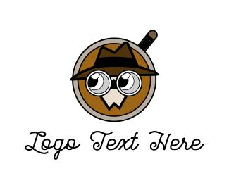 Detective - Detective Cartoon logo design