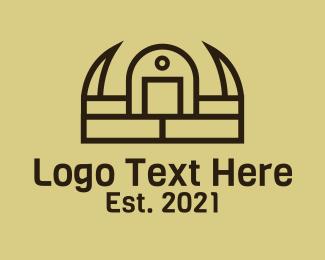 Gaming - Barbarian Crown Helmet logo design