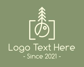 Camera Repair - Nature Photographer Camera logo design