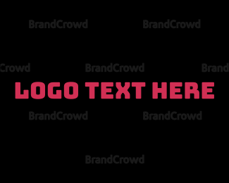 """Bold & Fun Wordmark Text"" by BrandCrowd"