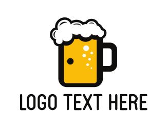 Brewer - Beer Door logo design