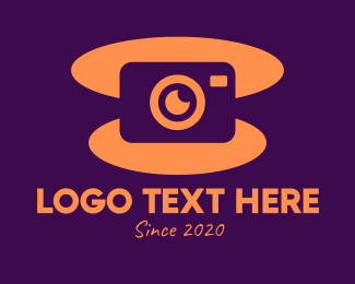 Photograph - Abstract Digital Camera logo design