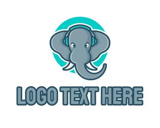 Esport - Elephant Gamer Esport logo design