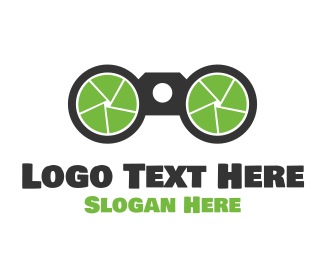 Tagline - Zoom Camera logo design