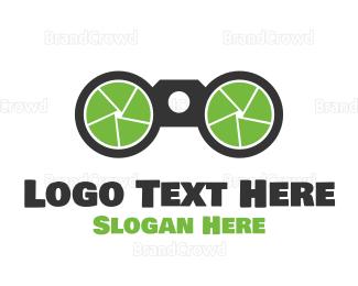 Picture Frame - Zoom Camera logo design