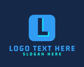 App - Tech Lettermark App logo design