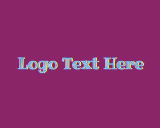 Girly - Cute Girly Text logo design