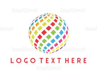 Bitmap - Digital Sphere logo design