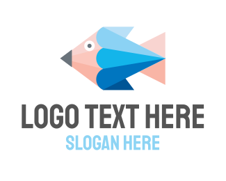 Web Developer - Pencil Fish logo design