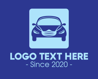 Suv - Face Mask Car Application logo design