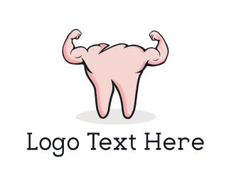 Strong - Strong Tooth logo design