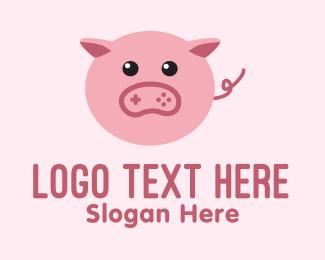 """""""Pig Gaming Mascot"""" by marcololstudio"""