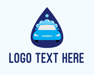 Car Wash - Car Wash Drop logo design