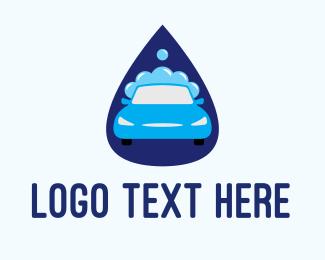 Soap - Car Wash Drop logo design