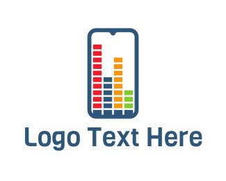 App - Equalizer App logo design