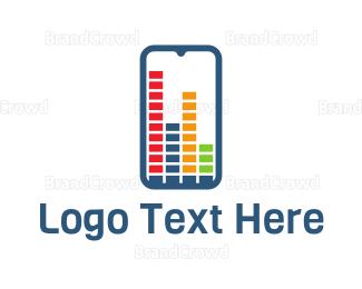 Sound Wave - Equalizer App logo design