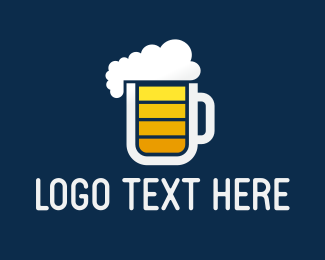Cider - Beer Charge logo design