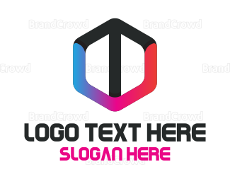 Startup - Arrow Hexagon  logo design