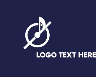 Disk - Music Circle logo design