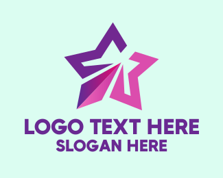 Purple - Generic Purple Star  logo design
