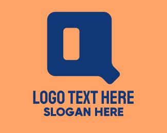 Software Development - Digital Letter Q logo design