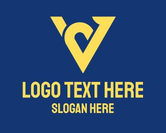Lux - Elegant Letter V logo design