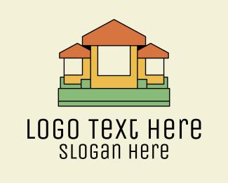 Construction - Home Design Construction  logo design