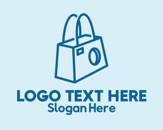 Photograph - Camera Bag  logo design