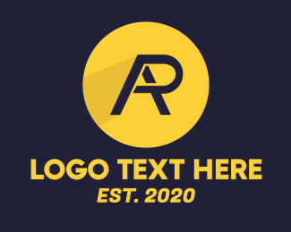 Rap - Yellow Racing RA logo design