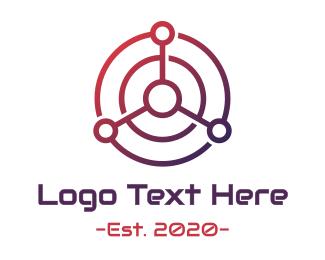 Wireframe - Tech Radar logo design
