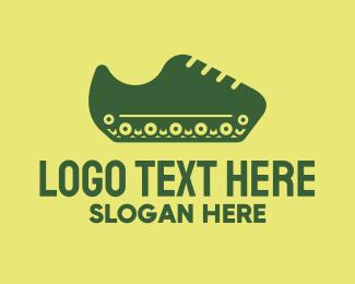 Apparel - Tank Shoe logo design