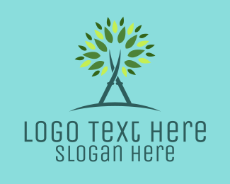 Tree Scissors Logo