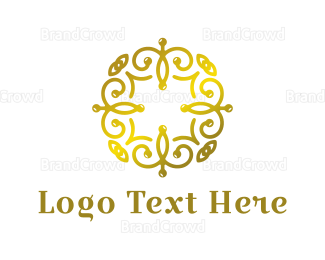 Thai - Golden Spa logo design
